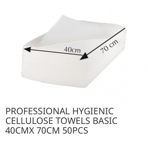 Disposable Cellulose Towels.