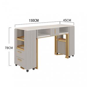 Jazmin Nail Desk Double